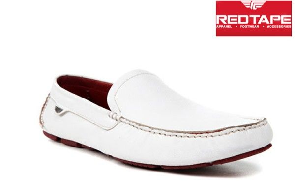 Red Tape Mens Casual White color
