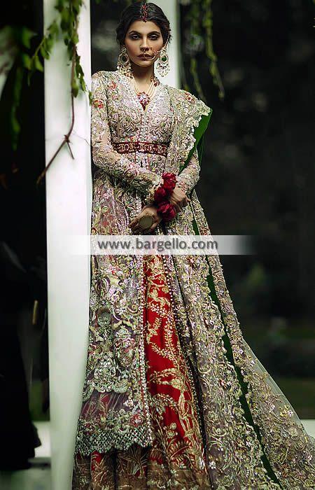 Latest Pakistani Designer Bridal Wear Dresses Bur Dubai UAE