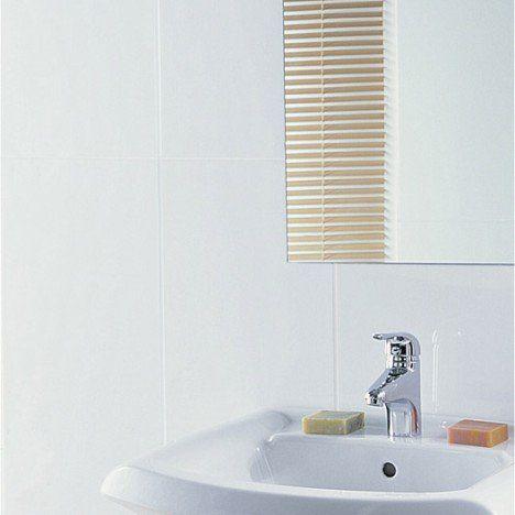 Faïence mur blanc mat, Rubix l30 x L60 cm  carrelage douche   20