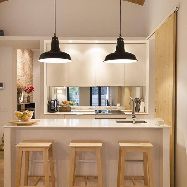 What do you think of this open kitchen for a small apartment ...