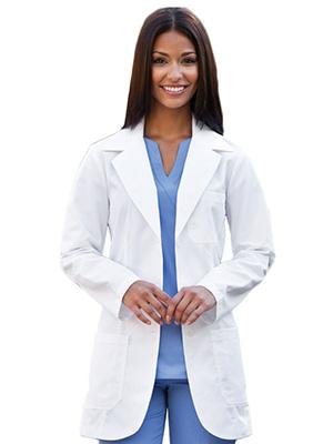"""Prima by Barco Uniforms Women's Whites 32"""" 3 Pocket"""