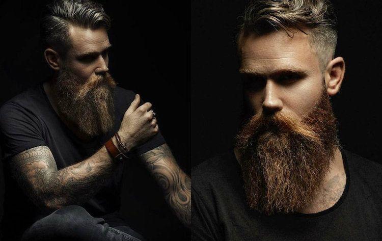quel style de barbe choisir cheveux mi longs barbe longue