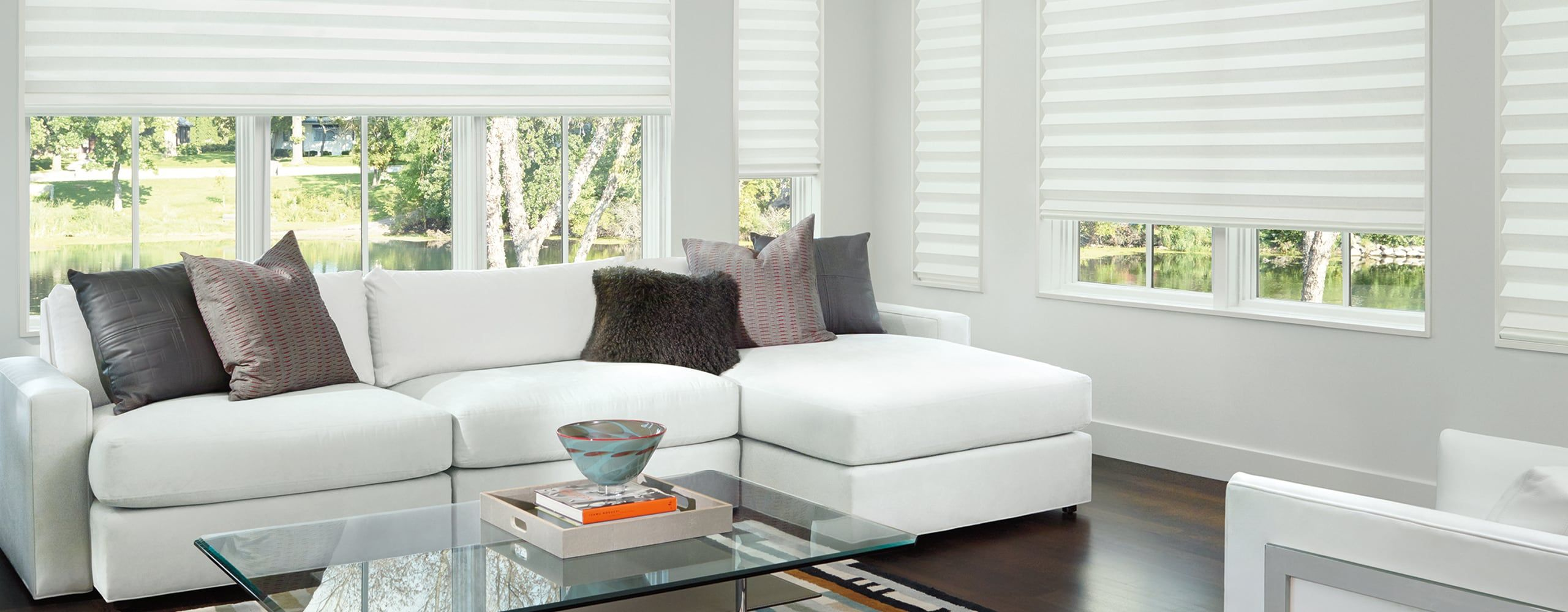 Yes window treatments like everything else these days are becoming