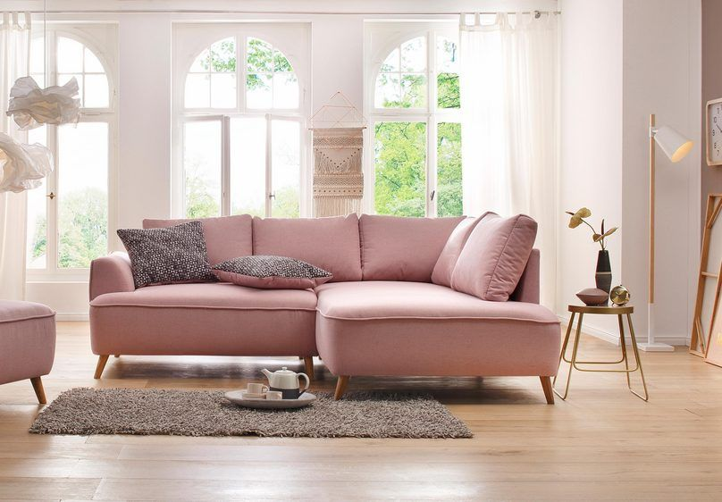 Home Affaire Ecksofa Rice Incl Hocker Mit Federkern Ecksofas Haus Deko Sofa