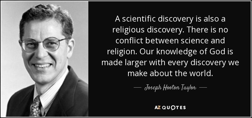 A Scientific Discovery Is Also A Religious Discovery