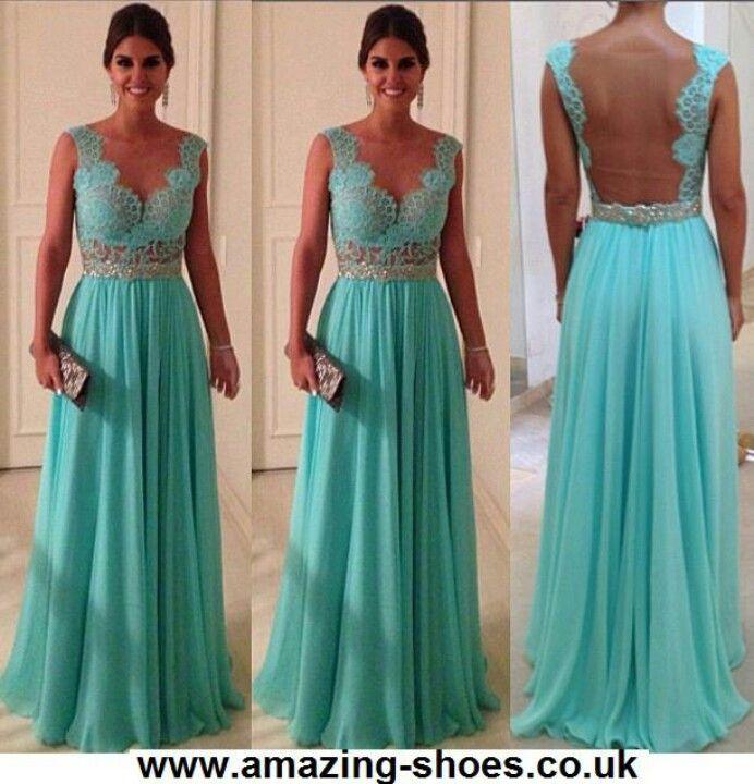 Vestido de madrinha de casamento cor verde agua