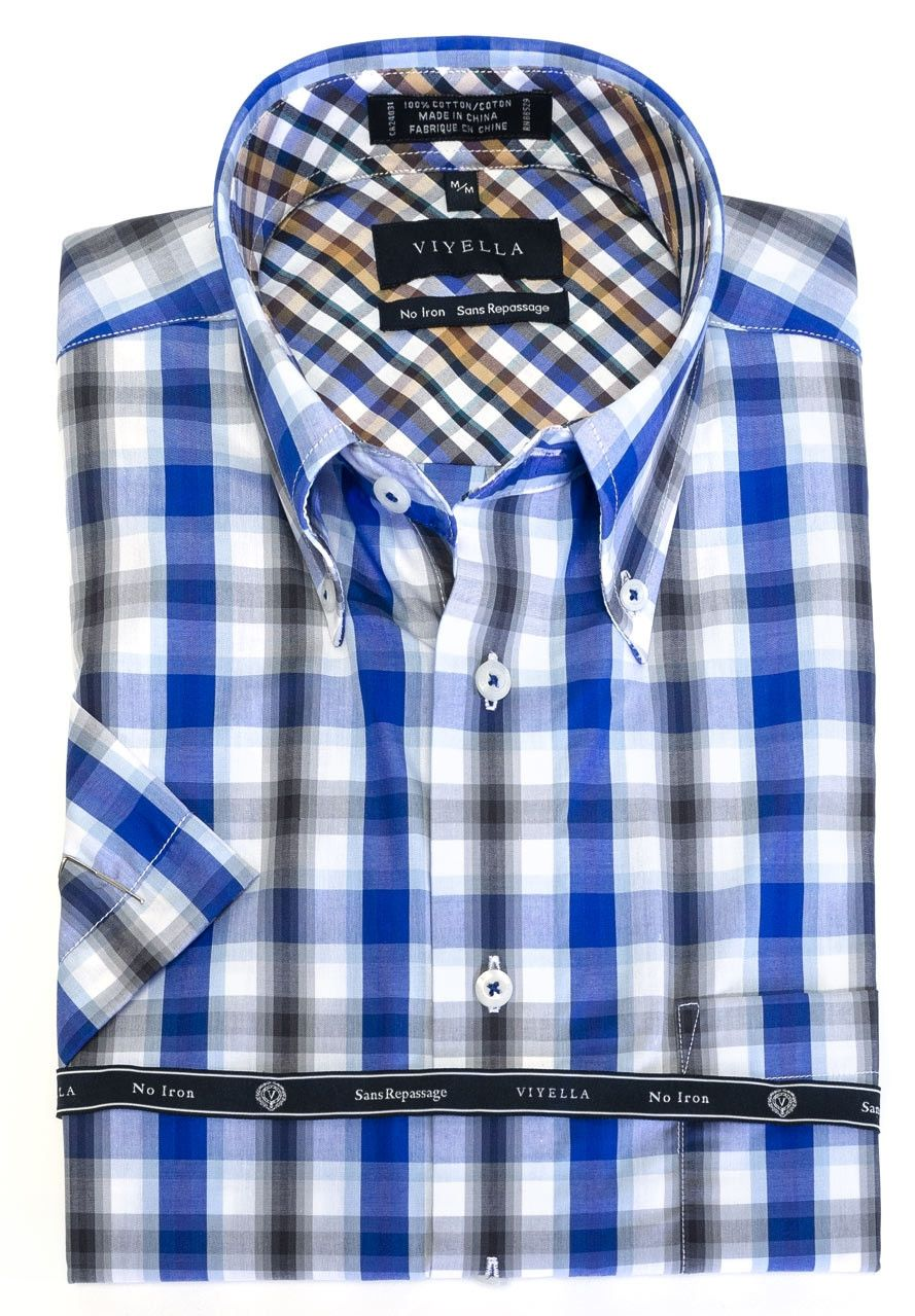 The Abbey Just Added Button Down Colla Check It Out Here Http Theabbeycollection Ca Products Button Down Collar Sh Sports Shirts Viyella Shirts Mens Tops