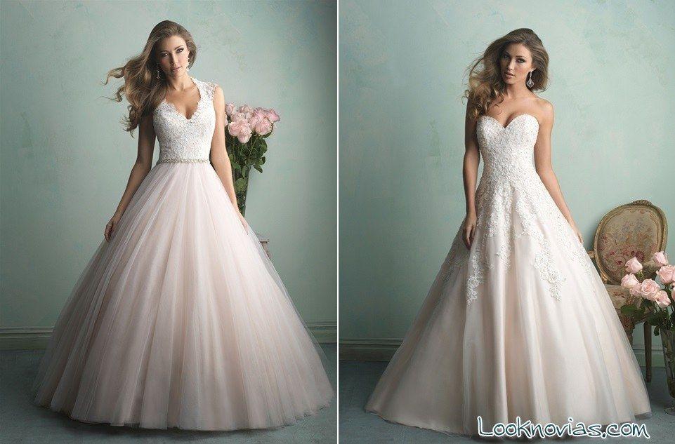 vestidos novias allure   mi vestido   Pinterest   Vestidos de novia ...
