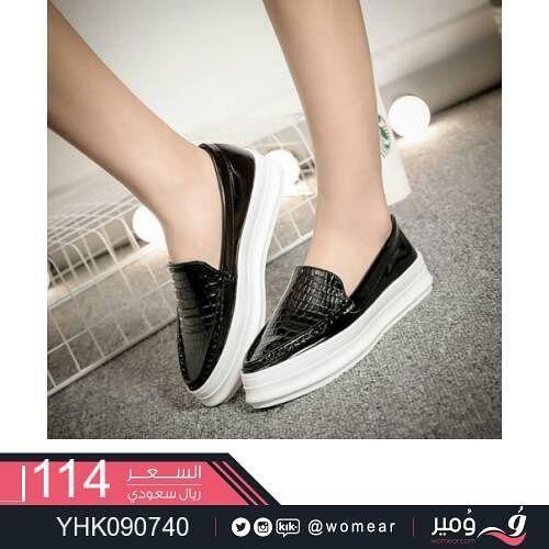 احذية بكعب منخفض مريح و جذاب شوز شوزات احذية احذية نسائية احذيه ارضية كاجوال حذاء باليرينا شبشب فاشن صبايا Slip On Sneaker Sneakers Shoes