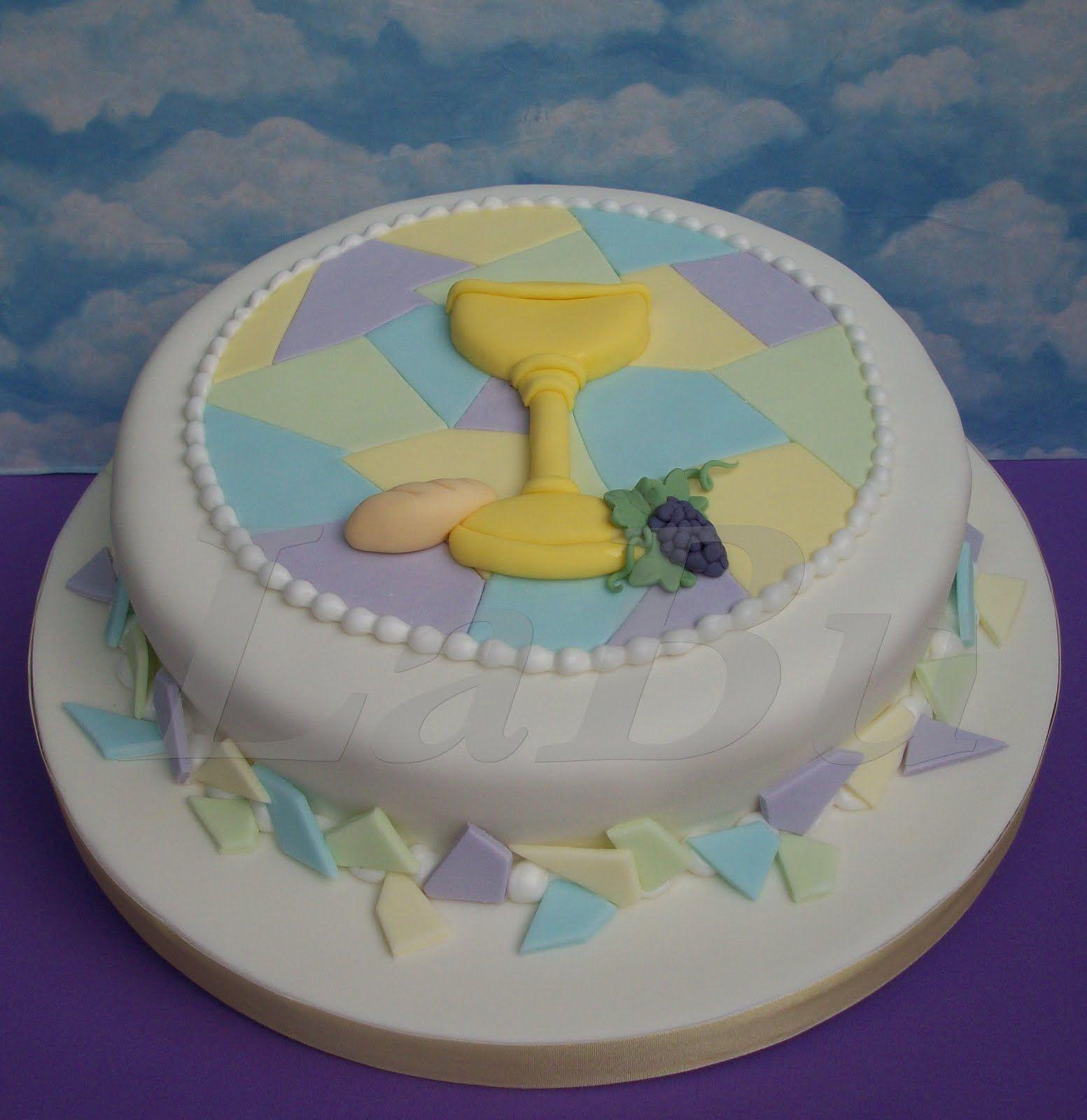 tortas de comunion para varones con iglesias - Buscar con Google ...