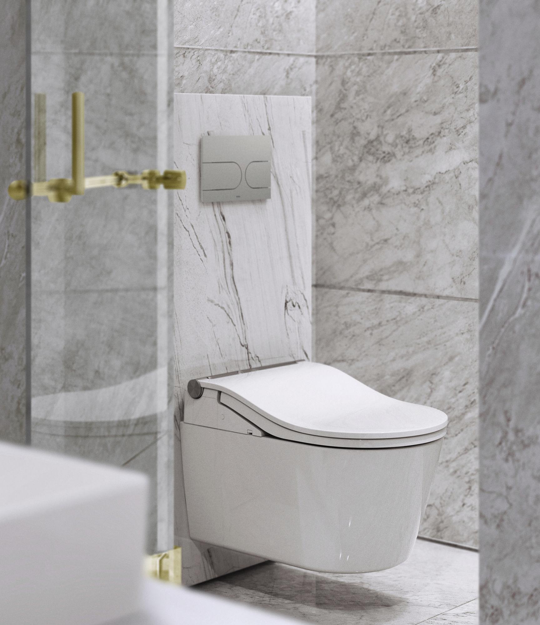 Komplett Set Toto Washlet Rw Automatische Spulung In 2020 Wc Mit Dusche Kasten Dusche