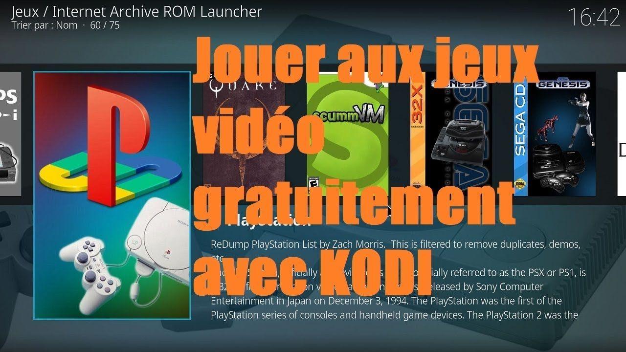 Kodi : Jouer aux jeux vidéo gratuitement sur KODI