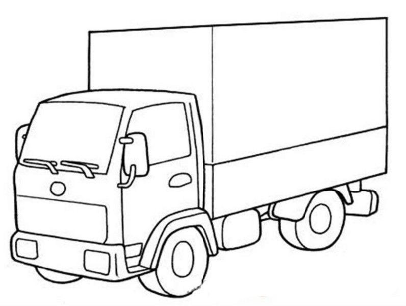 грузовик картинка простая занимающиеся веб-дизайном, используют