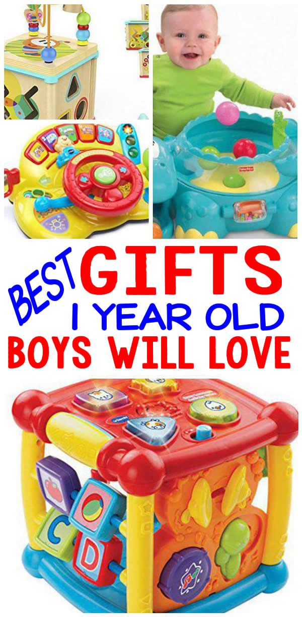 BEST Gifts 1 Year Old Boys Will Love (With images) | 1st ...