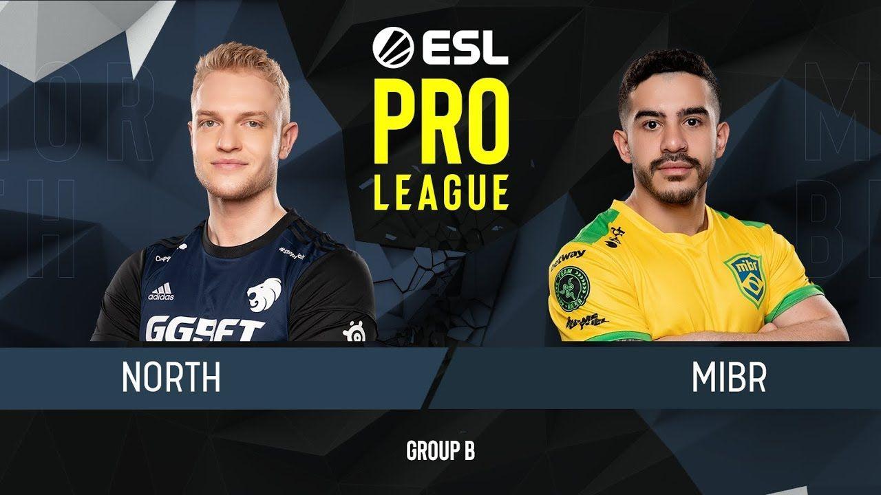 Cs Go Mibr Vs North Map 1 Group B Esl Pro League Season 9 League Esl Esports