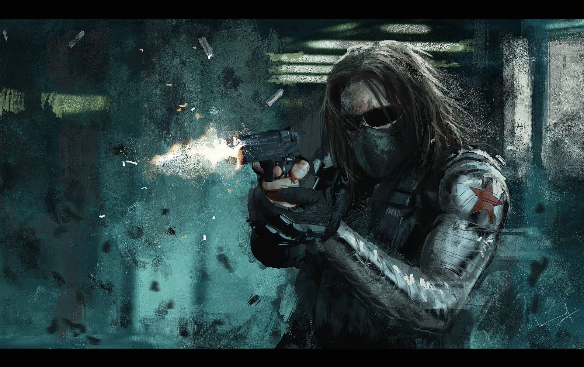 Winter Soldier by Imad Awan Winter soldier wallpaper