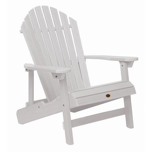 Highwood USA highwood® Folding u0026 Reclining KING-SIZE Adirondack Chair u0026 Reviews | Wayfair  sc 1 st  Pinterest & Highwood USA highwood® Folding u0026 Reclining KING-SIZE Adirondack ...