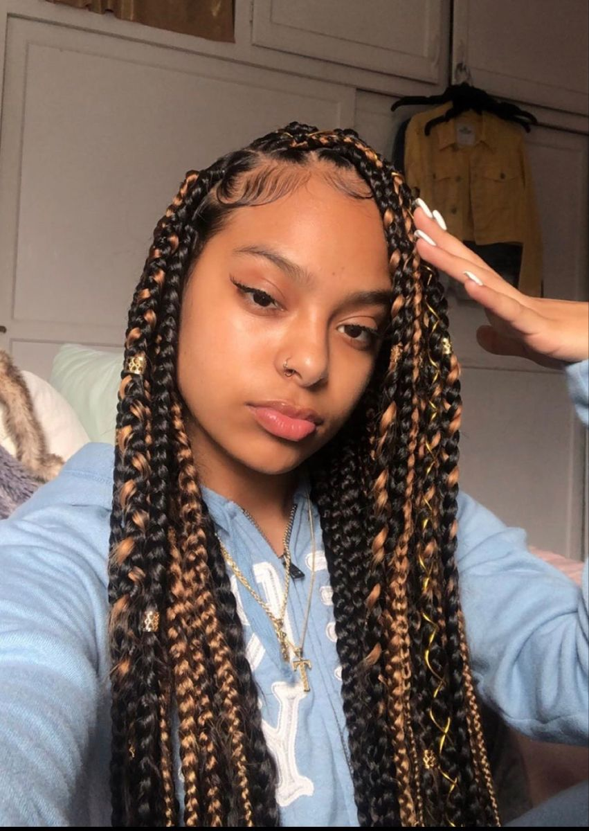 Pin By Alyia On Hair Curly Girl Hairstyles Mixed Girl Hairstyles Box Braids Hairstyles For Black Women