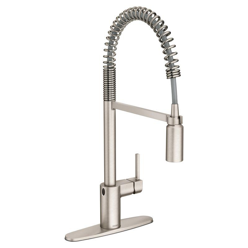 Align Pull Down Touchless Single Handle Kitchen Faucet With