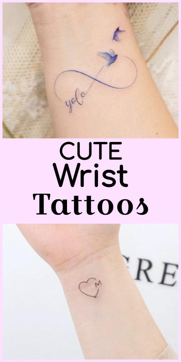 24 Cute Wrist Tattoos Ideas You Will Love Tattoo ideas