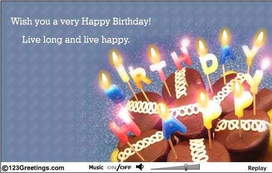 Pin by Patricia Simmons on Happy Birthday Wishes – Live Birthday Greetings