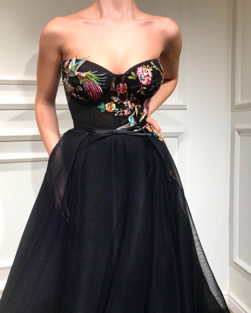38f60e41c0 Onyx Blossom TMD Gown