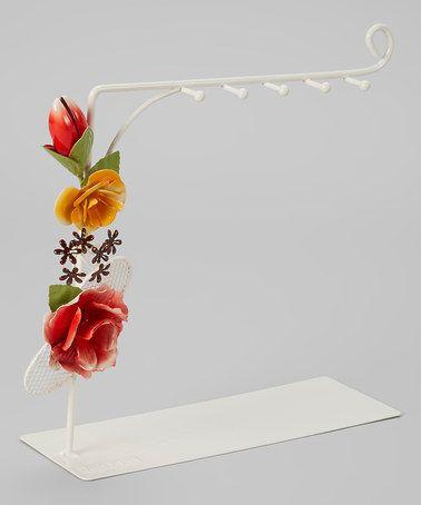 Love this Hot Pink Bella Rosa Necklace Holder by Jacki Design on #zulily! #zulilyfinds