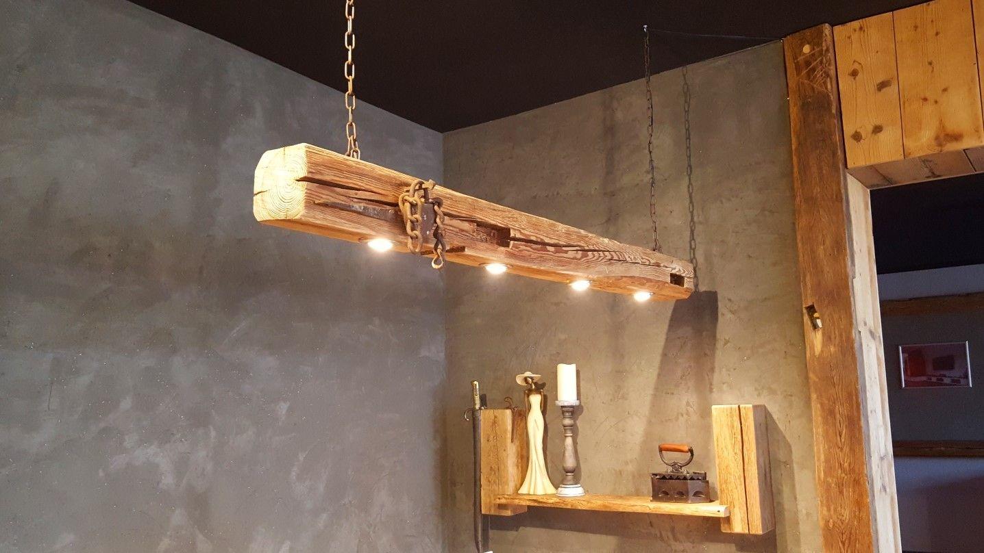 Lampen Aus Holzbalken