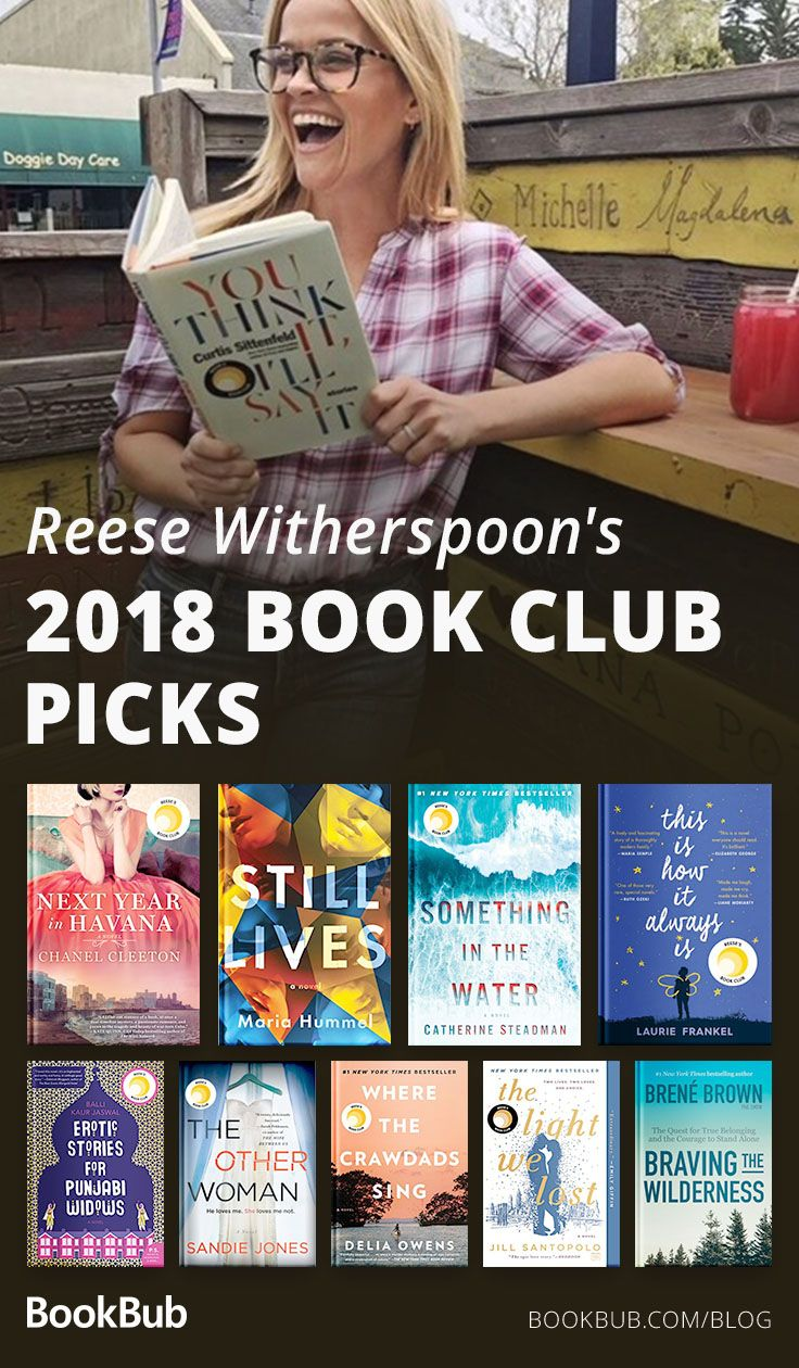 Here's What Reese Witherspoon's Book Club Read This Year