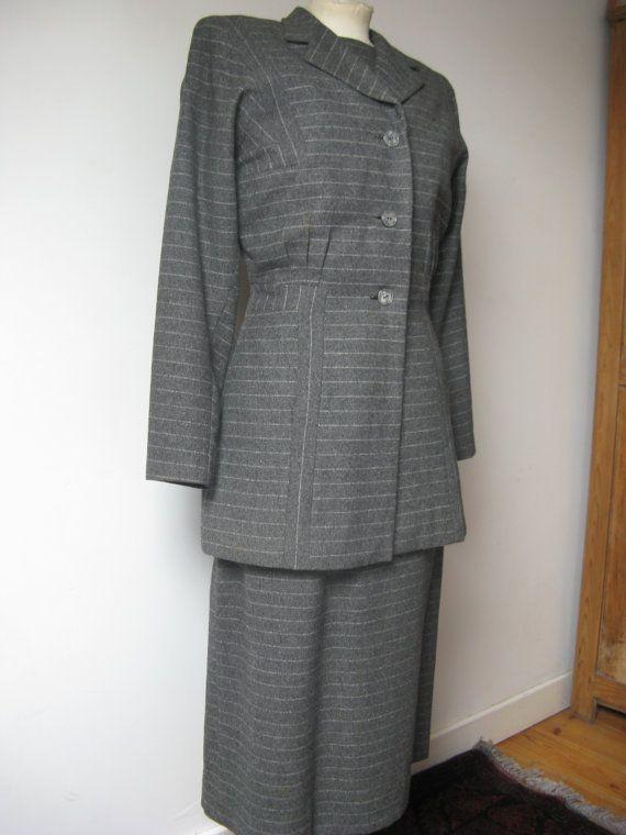 40's dress and Jacket