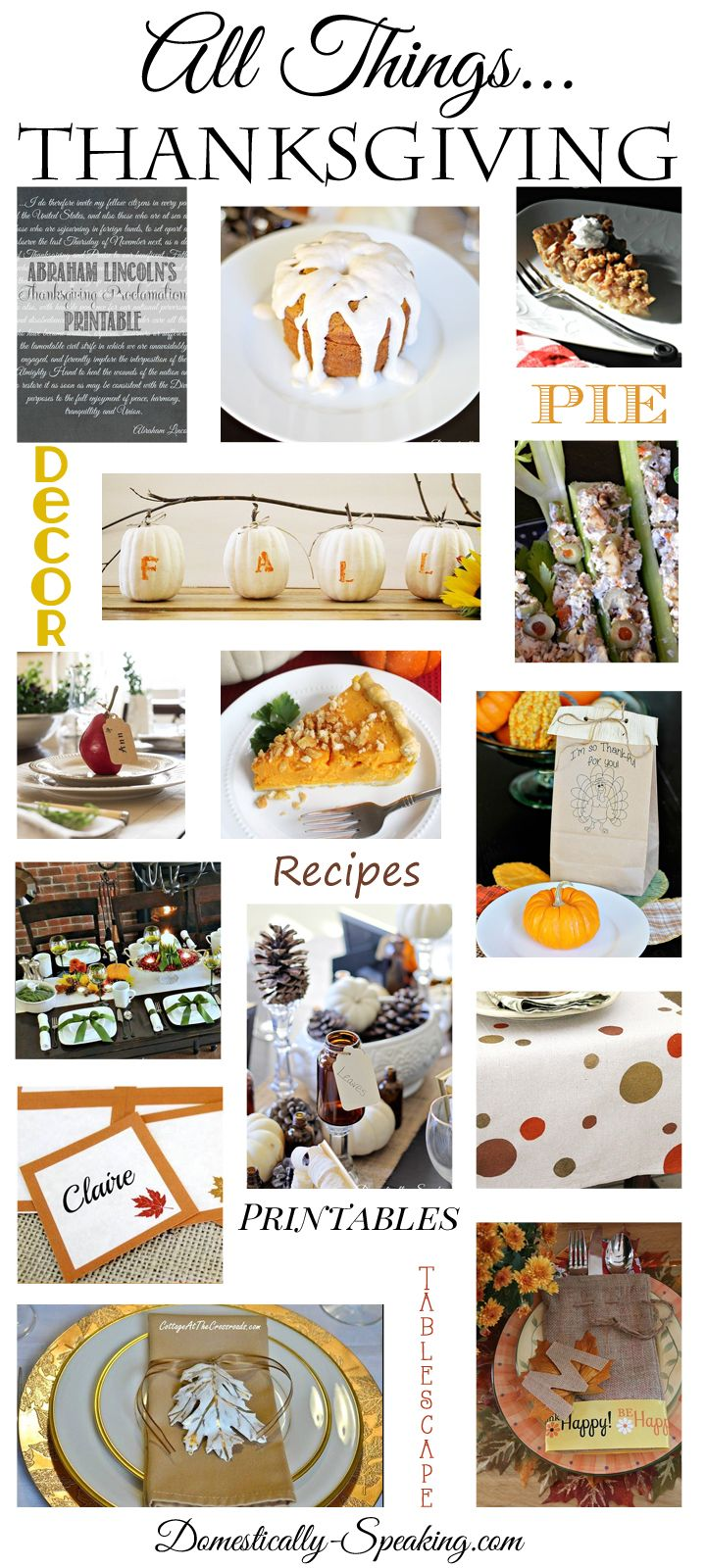 List of Easy Thanksgiving Decoration DIY Project 2