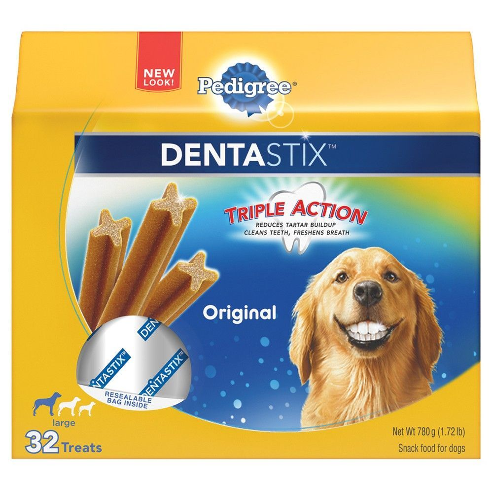 Pedigree Dentastix Large Pet Treats For Dogs 32ct Best Treats