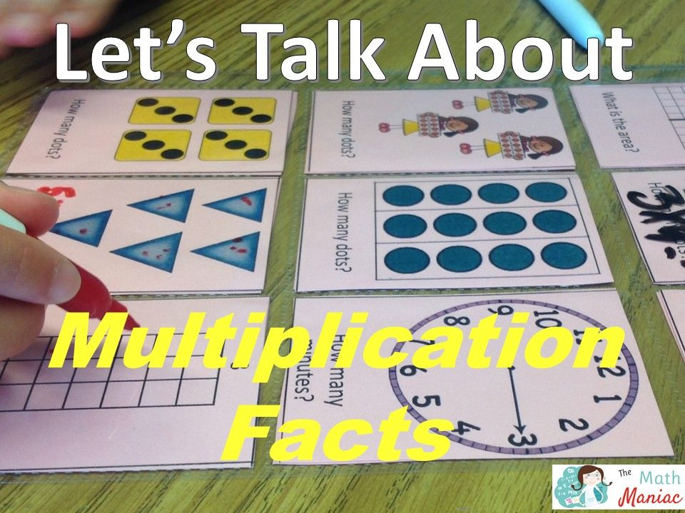 Let's Talk About Multiplication Fact Fluency (With images
