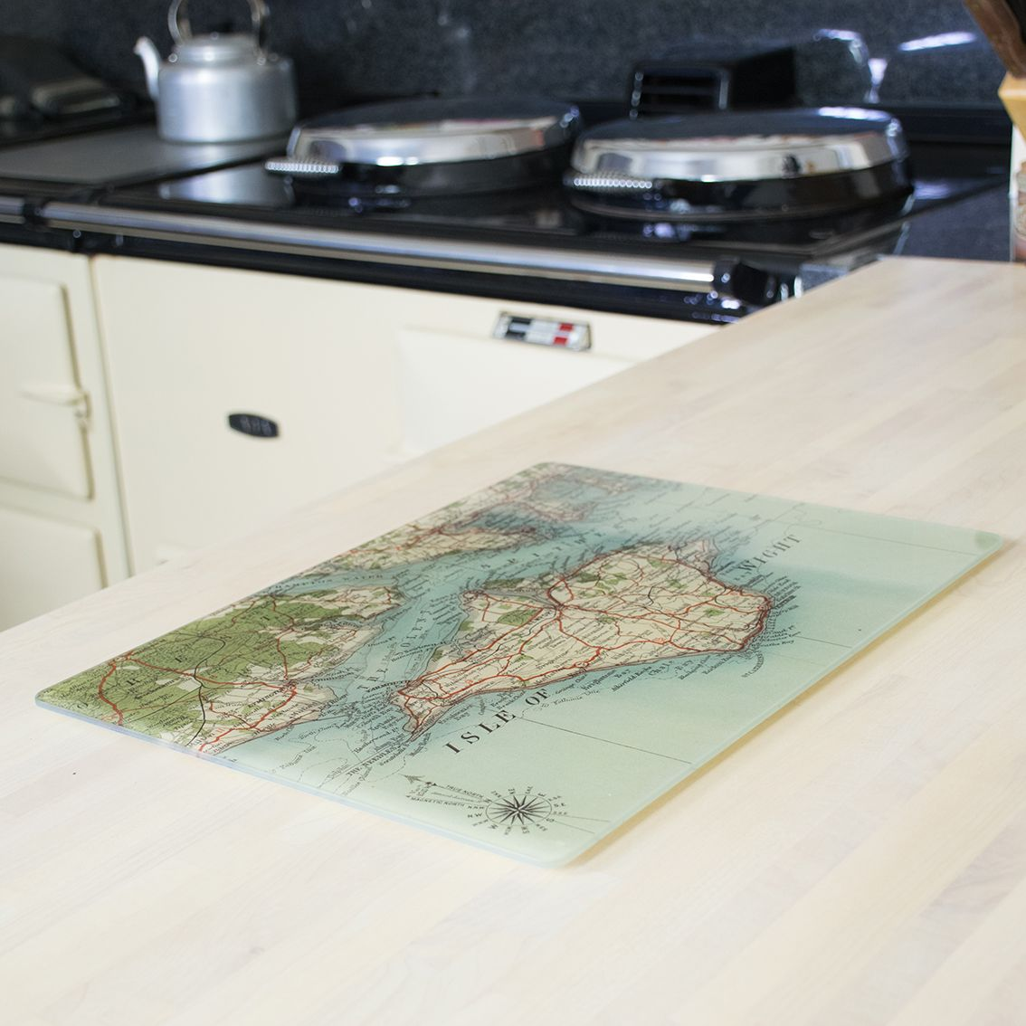Our Heatproof Glass Worktop Saver Is A Unique Addition To Any