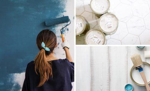 Nos meilleurs trucs pour peinturer efficacement en 2020 | Peindre un plafond, Peinture interieur ...