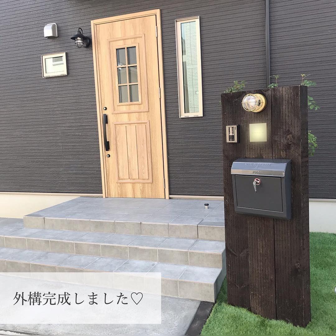 画像に含まれている可能性があるもの 屋外 玄関アプローチ デザイン