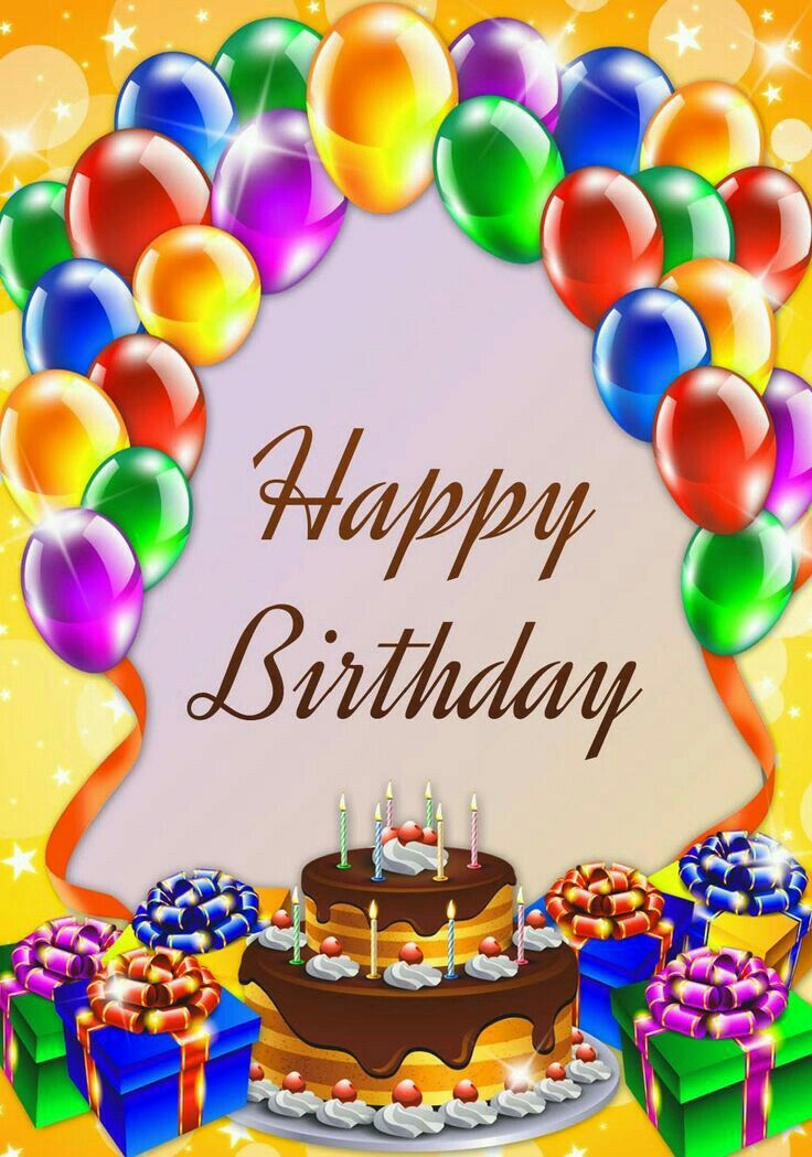 happy birthday hd images - Google Search Happy Birthday Balloons - birthday wish template