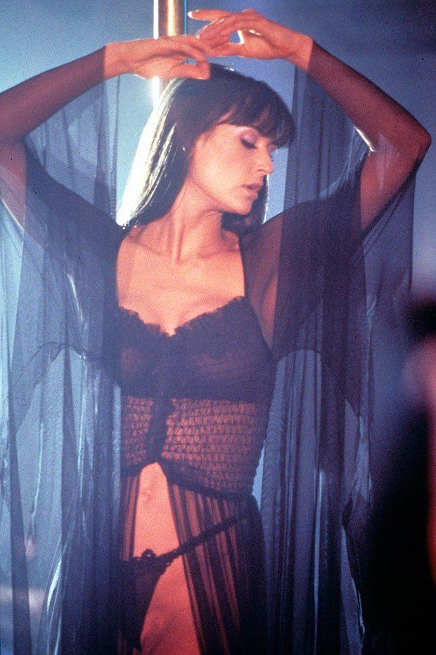 Stripping Stars Up Down The Pole Demi Moore Actresses