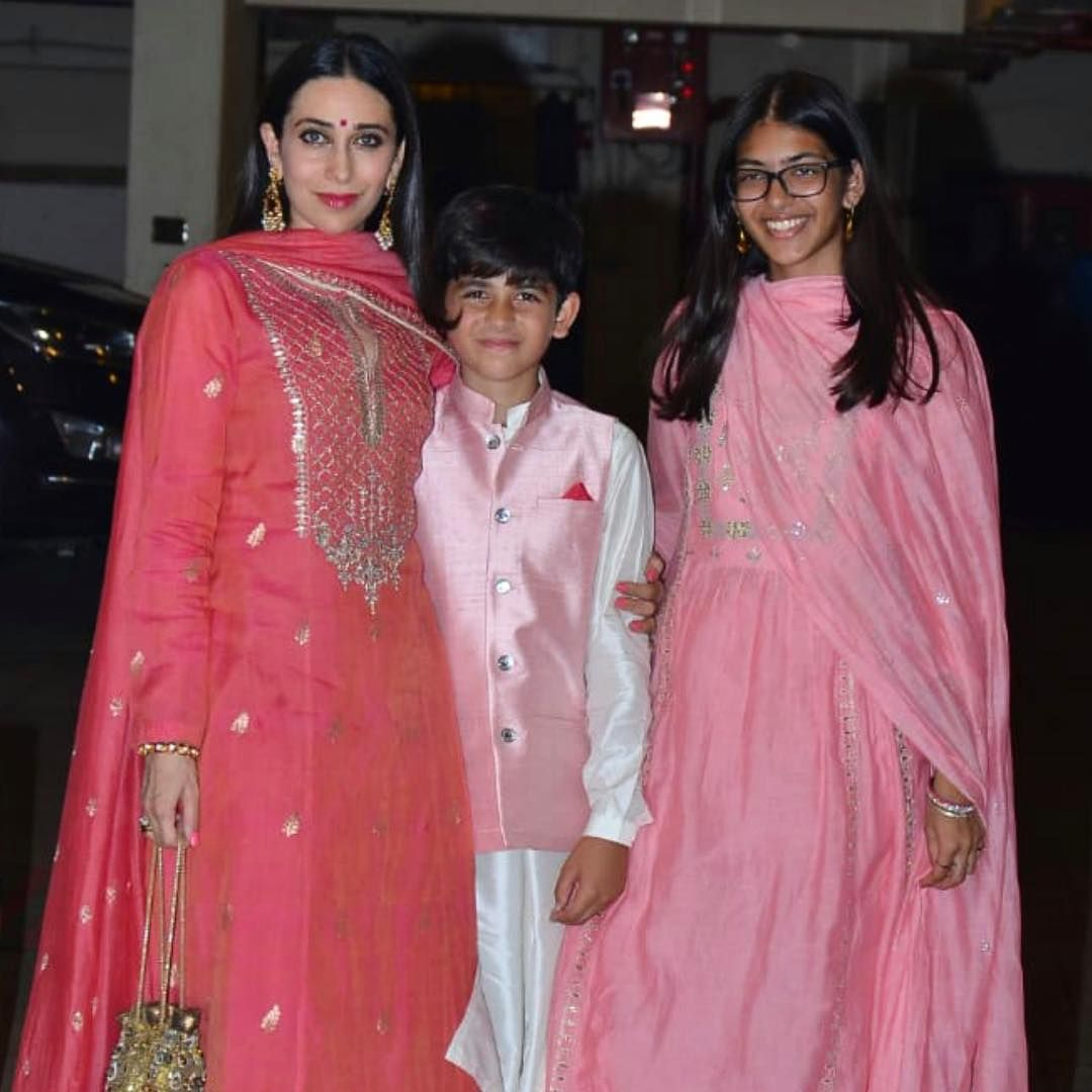 therealkarismakapoor brings in the festive mood this year