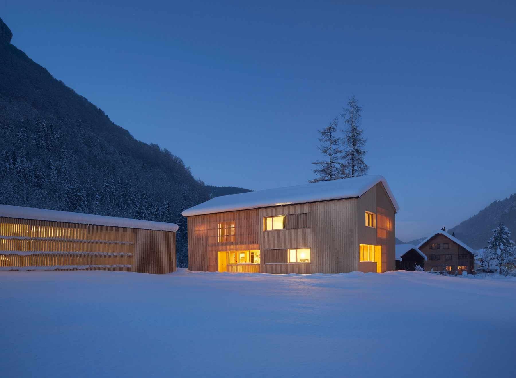 Bregenzerwald holzbau ferienhaus insel zeit urlaub architektur johannes johannes