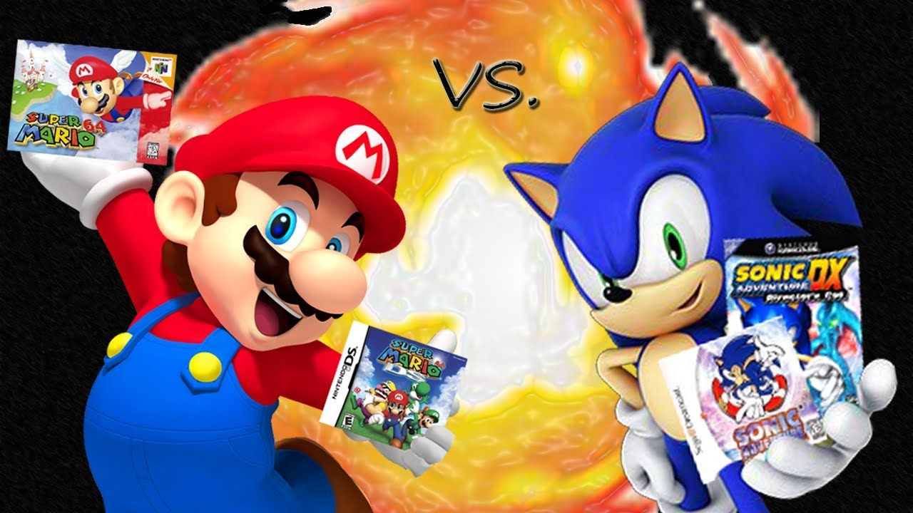 What game do you like better? Super Mario 64 or Sonic