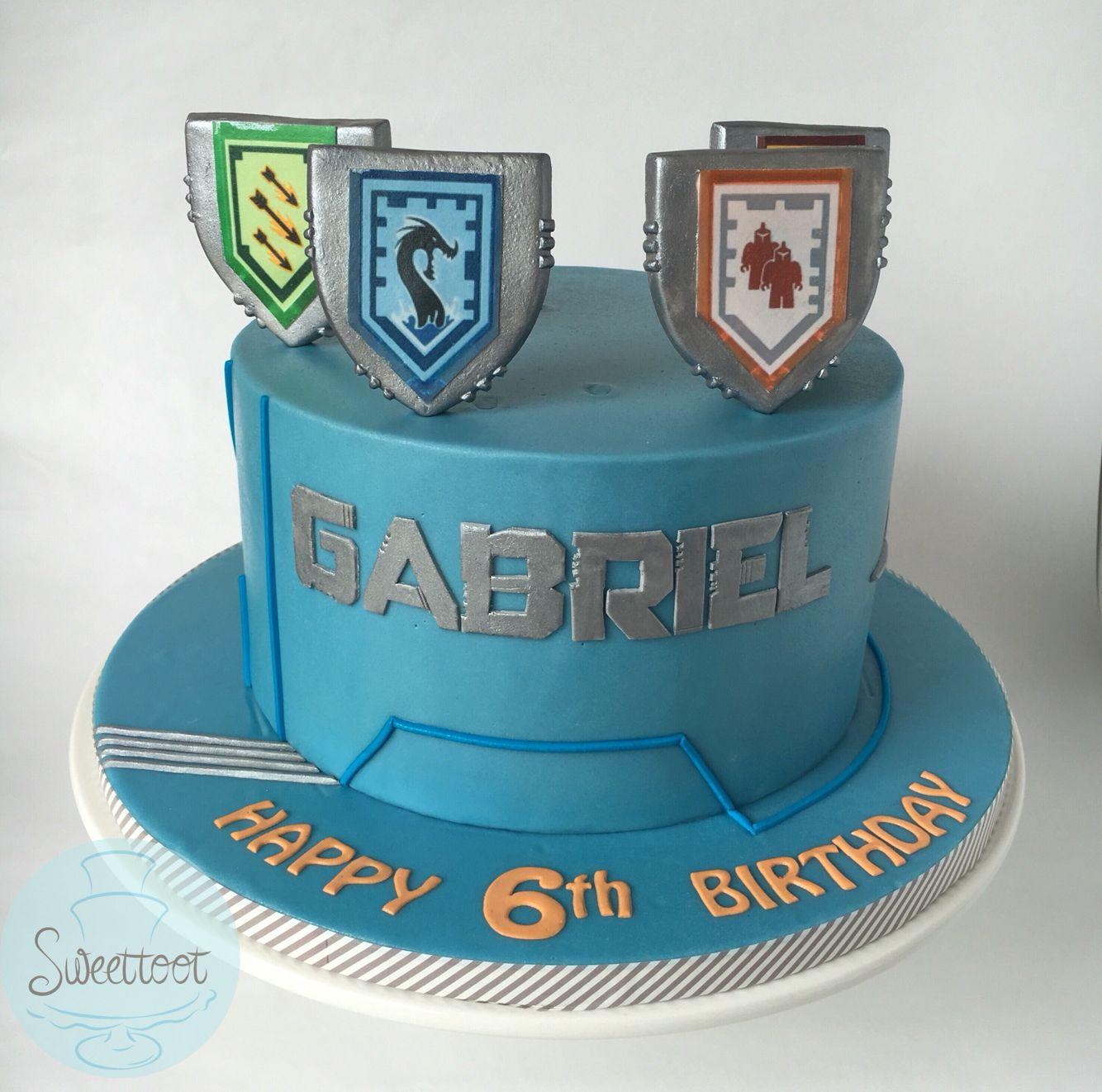 Nexos knights birthday cake Pinteres