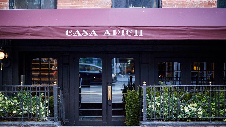 Restaurants Casa Apicii New York Jetsetreport New York City