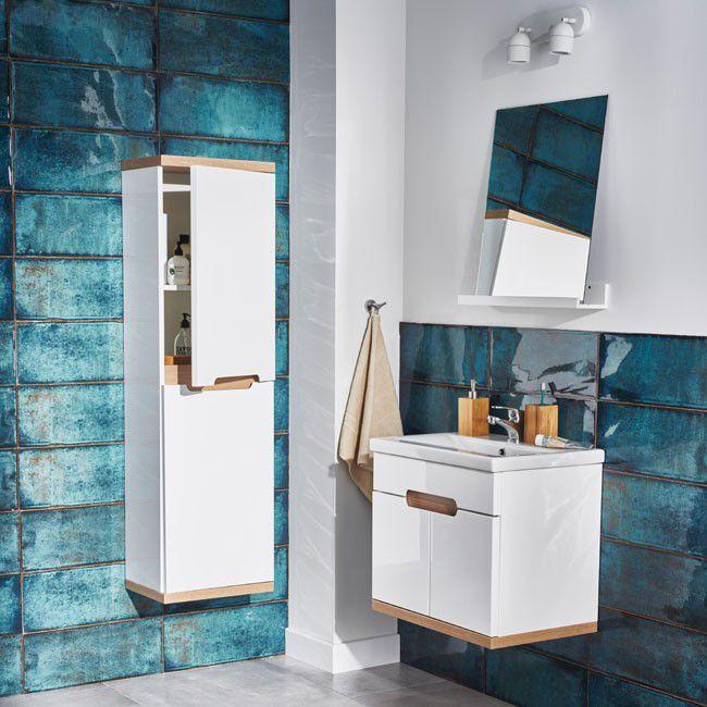 Glazura Montblanc 20 X 50 Cm Niebieska 1 2 M2 Plytki Scienne Mont Blanc Blue Home Decor