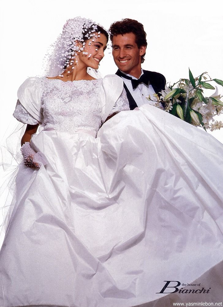 House of Bianchi, 1987 Model : Yasmin Le Bon Uploaded by 80s-90s ...