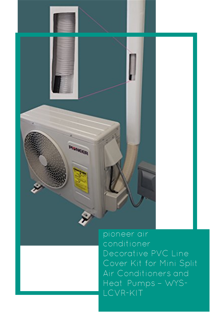 Pioneer Air Conditioner Decorative Pvc Line Cover Kit For Mini