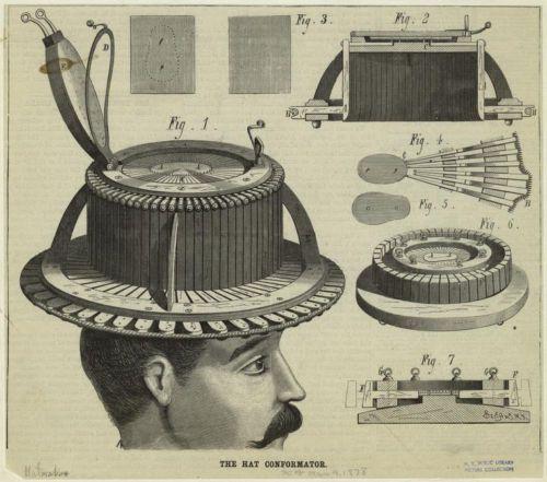 Antique Allie Maillard Conformateur Millinery Hat Sizer Complete Set 4 Pcs Box Antique Hats Hats Top Hat