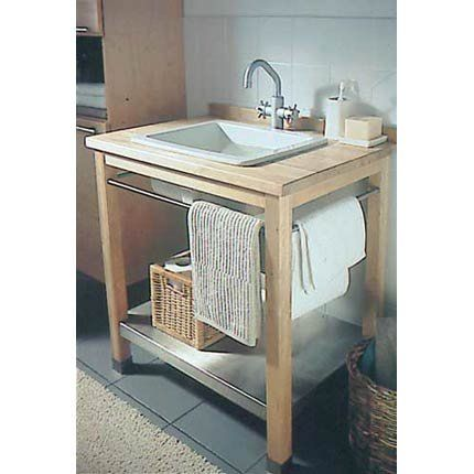 Meuble lavabo en bois Sinks