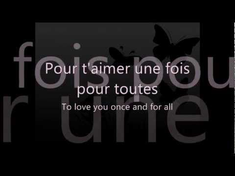Celine Dion L Amour Existe Encore French Lyric Video With English Translation French Songs Friendship Lyrics Celine Dion
