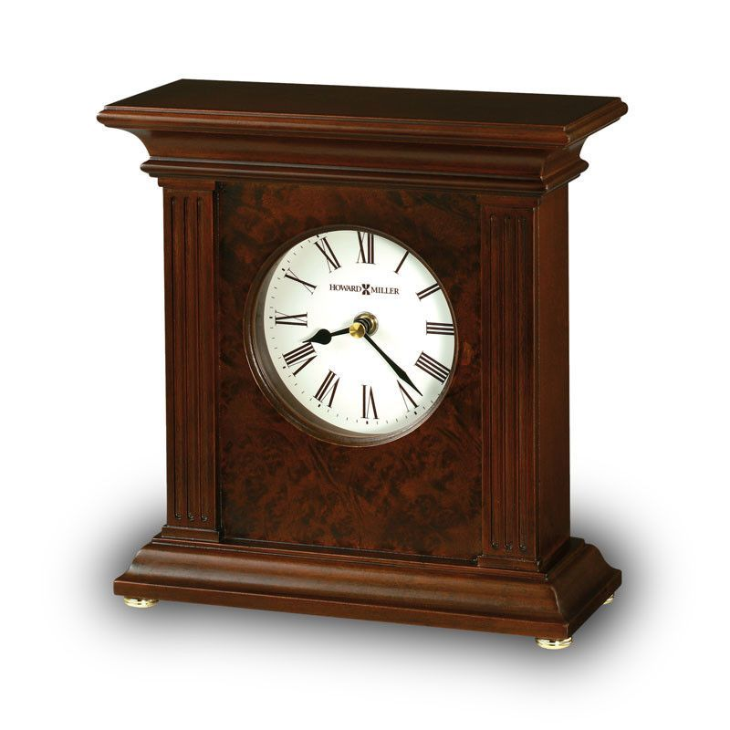 Andover Wooden Clock Cremation Keepsake Mantel Clock Wooden Clock Clock